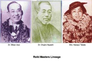 reiki masters lineage