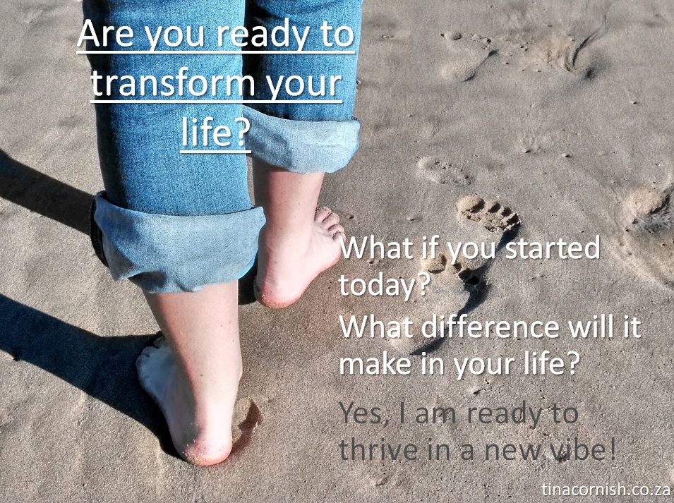 Be coached to transform your life beach tina cornish