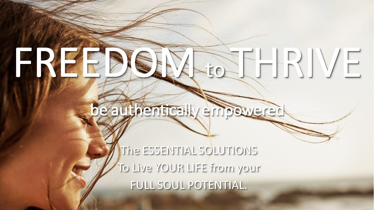 freedomtothrive be authentically empowered